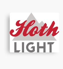 Hoth Light Beer Canvas Print