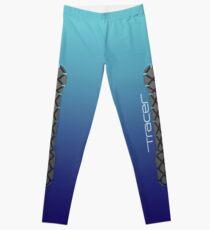 Tracer Royal Blue Cosplay Leggings Leggings