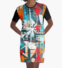 Daisies in the night Graphic T-Shirt Dress