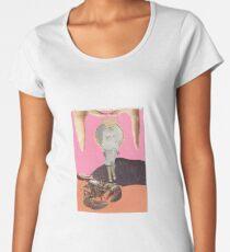 'Lie Land' Collage Piece Women's Premium T-Shirt