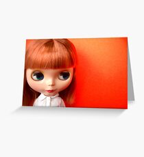 Orange Crush Greeting Card