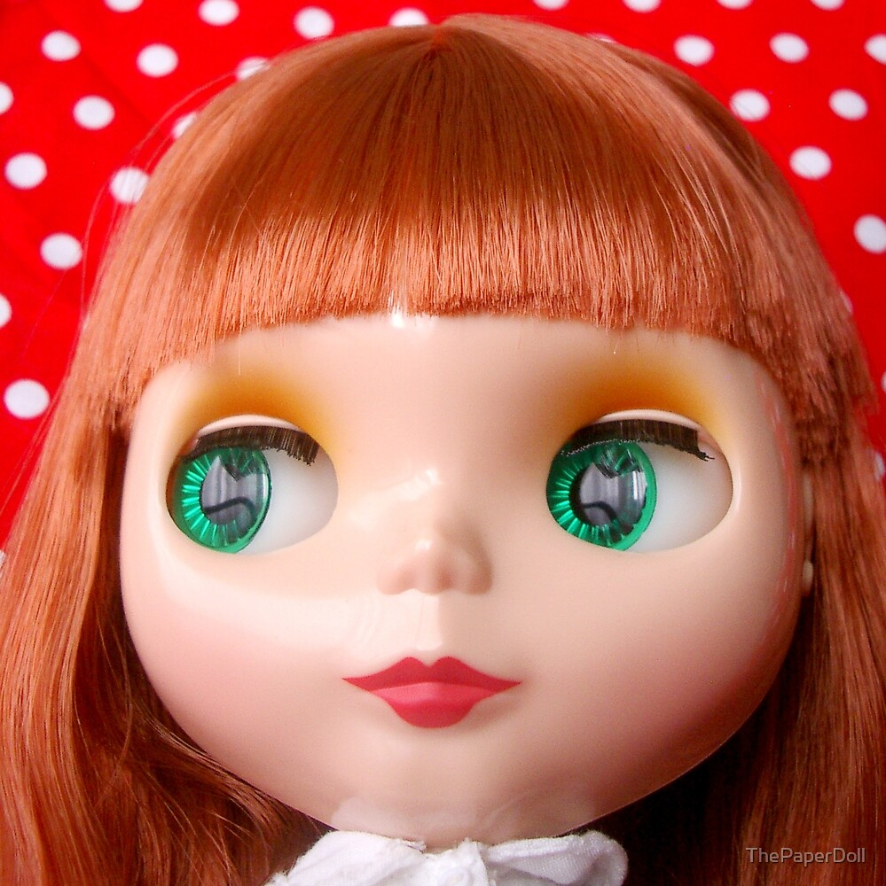 Polka Dot Sweetheart by ThePaperDoll