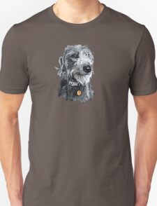 Cute stylized scruffy pup Unisex T-Shirt