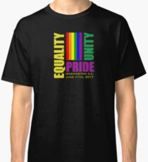 Equality March 2017 - June 11, 2017 - Washington D.C. Classic T-Shirt