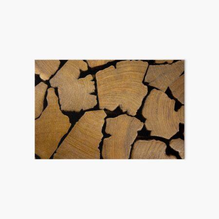 Wood 3 Art Board Print