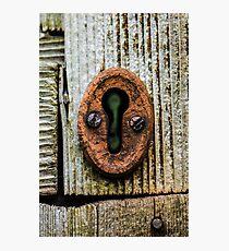 Through the keyhole Photographic Print