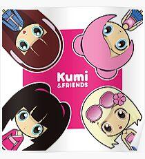 KUMI, HANA, AIMI Y KASUMI MEJORES AMIGAS Poster