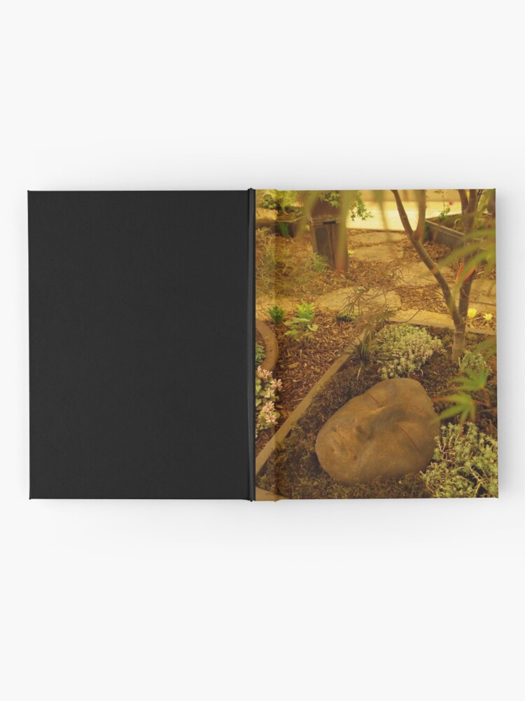 Alternate view of A Face in the Garden  Hardcover Journal