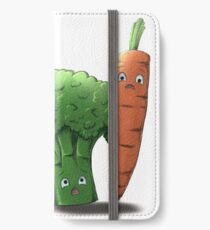 Left-Right : The Mansion // The Vegetables iPhone Wallet/Case/Skin
