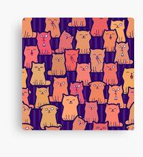 Cute ginger kittens Canvas Print