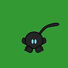 Kawaii Time Blue-Eyed Black Lemur by gotrei
