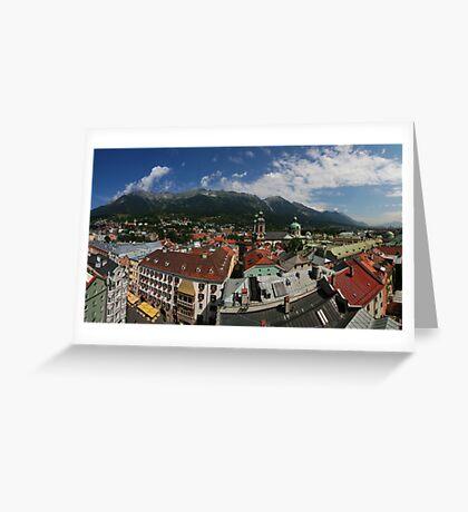 Postcard from Innsbruck Greeting Card