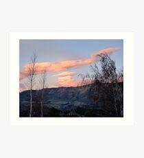 Painted Clouds - Sunrise Wanaka - NZ Art Print