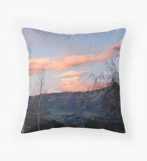 Painted Clouds - Sunrise Wanaka - NZ Throw Pillow