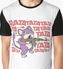 Rattata Machine gun Graphic T-Shirt