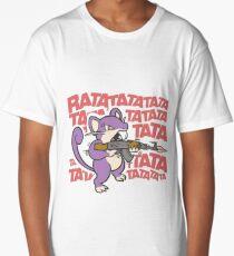 Rattata Machine gun Long T-Shirt