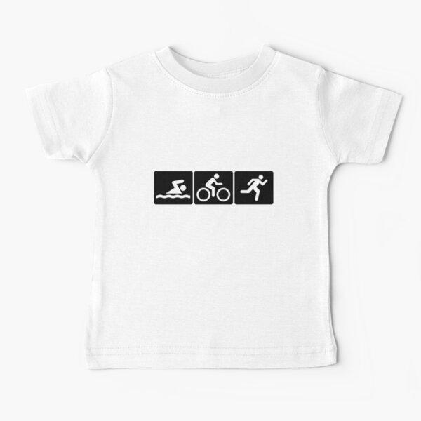 Triathlon: Swim + Bike + Run Baby T-Shirt