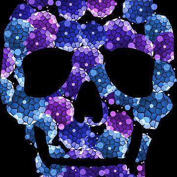 Bacteria Skull by grebenru