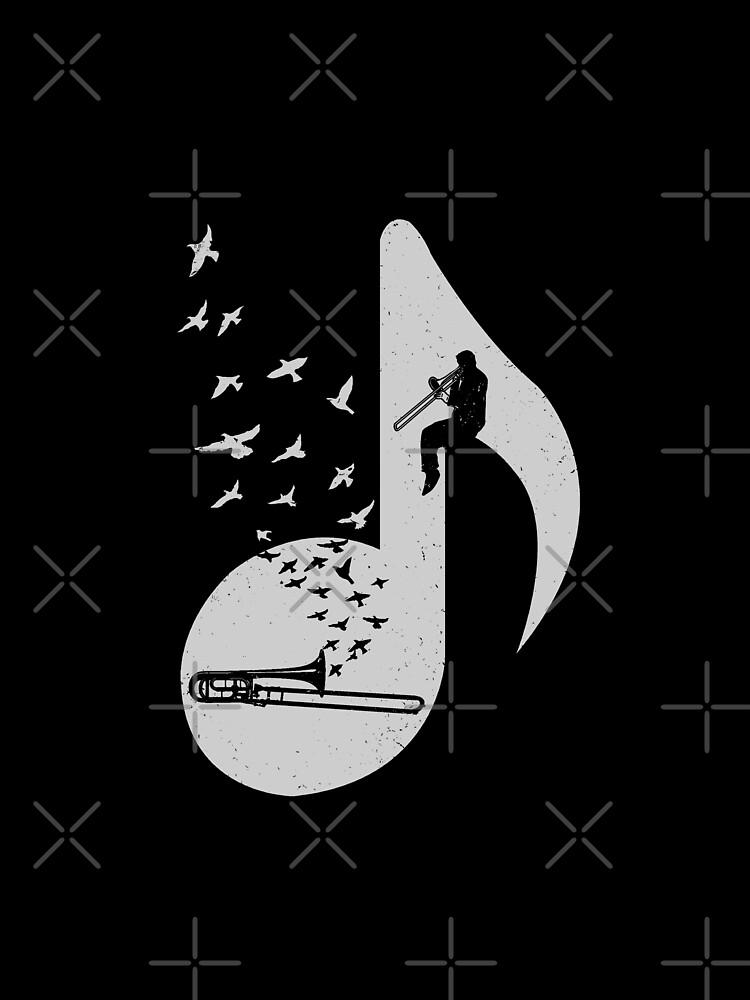 Musical note - Trombone by barmalisiRTB