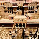 Chand Baori by Barbara  Brown