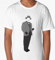 Great Detectives - Hercule Poirot Long T-Shirt