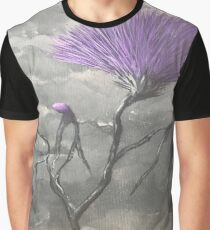 Stormy Thistle Graphic T-Shirt