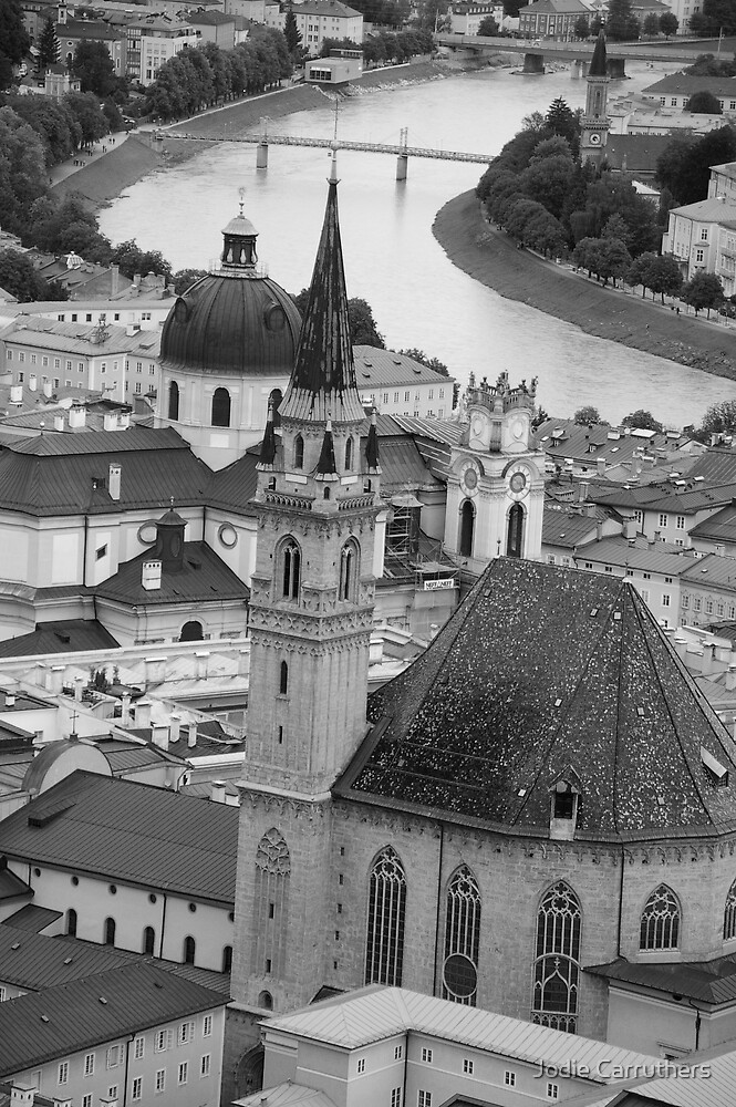 salzburg view by Jodie Carruthers