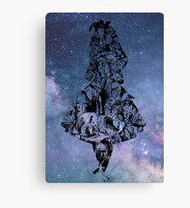 Alice in the Sky Canvas Print