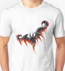 Hand drawn sketch of flying demon T-Shirt
