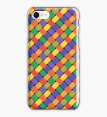 colorful braided pattern iPhone Case/Skin