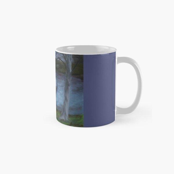 At The Lake By Night Painting Classic Mug
