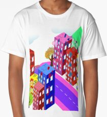 Abstract Urban Long T-Shirt