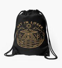 Get In Loser Drawstring Bag