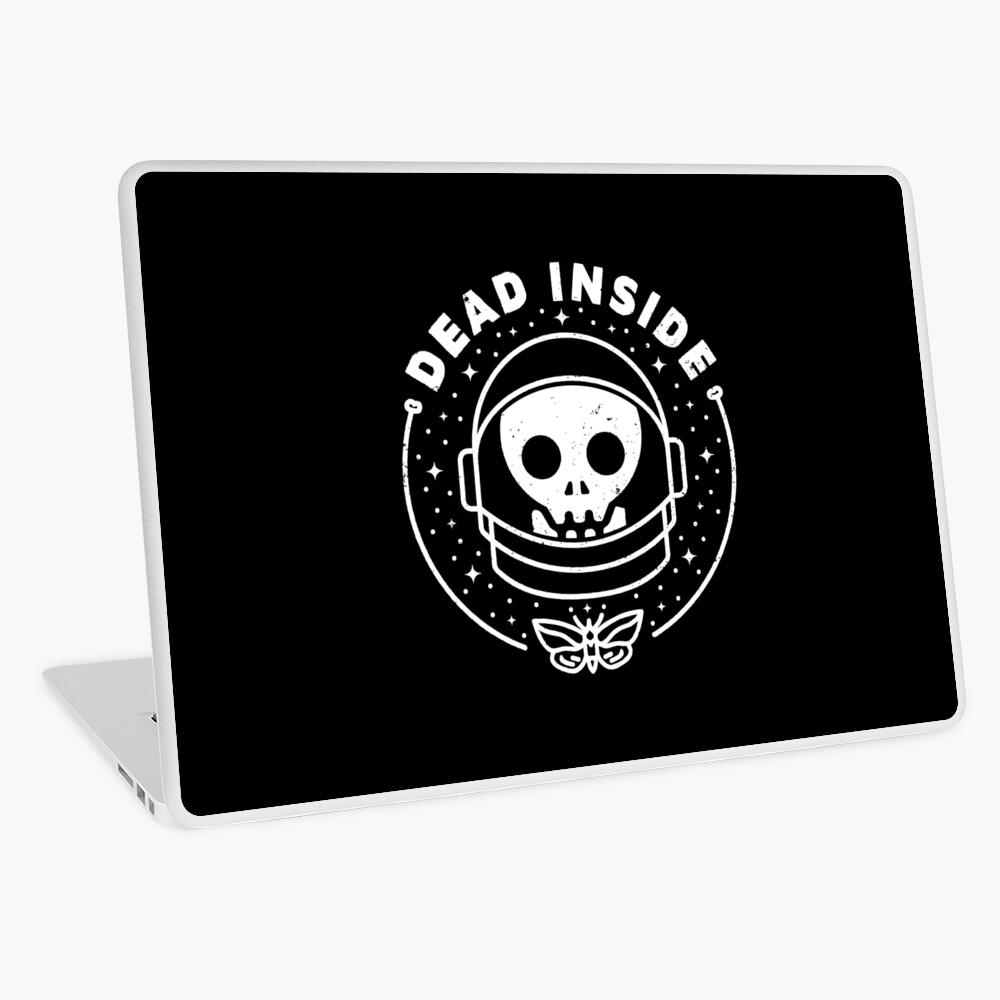 Dead Inside Laptop Skin