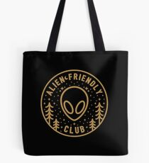 Alien Friendly Club Tote Bag
