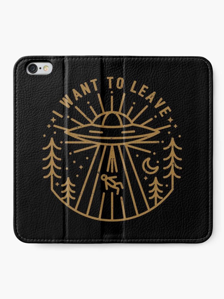 Alternate view of I Want To Leave iPhone Wallet