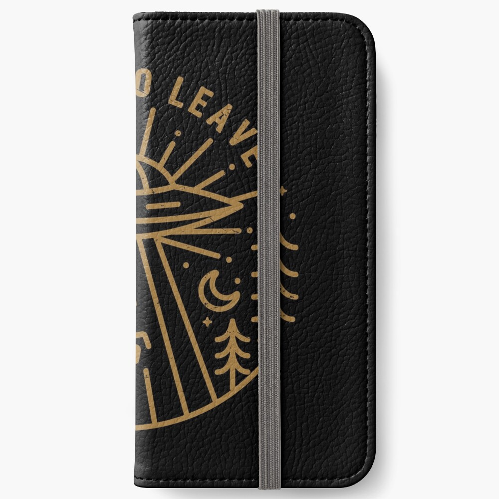 I Want To Leave iPhone Wallet