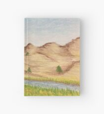 North Platte River Drawing Hardcover Journal