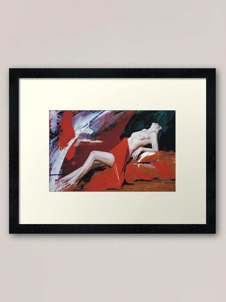 Alternate view of Astarte Framed Art Print