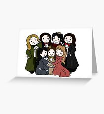 Versailles Family! Greeting Card