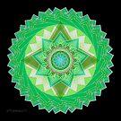 Heart Chakra Mandala - Anahata  by mimulux