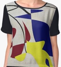 In Search of Calder Chiffon Top