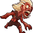 Zombie Sticker by Fable
