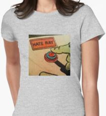 Vintage Comics: Hate Ray Womens Fitted T-Shirt