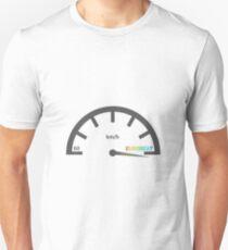 Eurobeat Speedometer Unisex T-Shirt