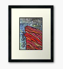 Red Rocks  Framed Print