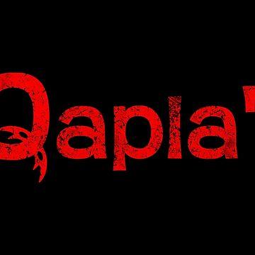 QAPLA'! by darqenator