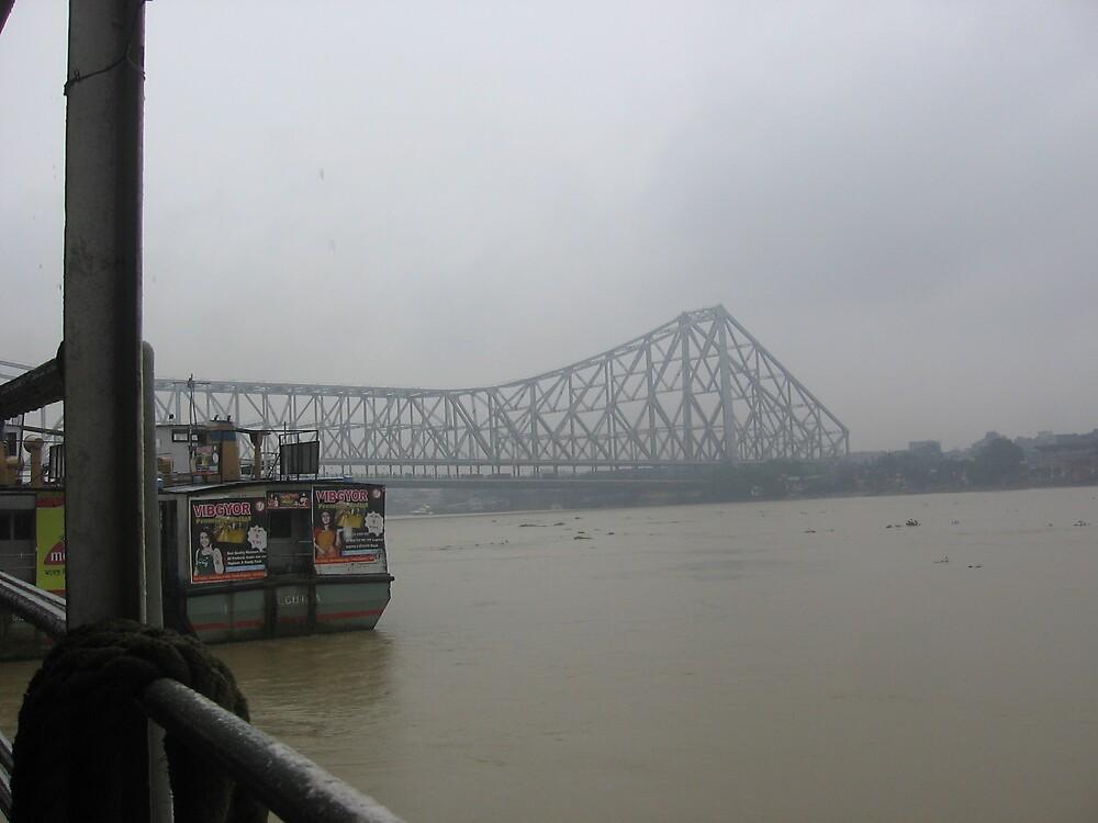 howrah bridge  by johhnyhandsome