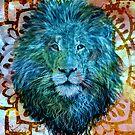 Lion Mandala by ShantyShawn