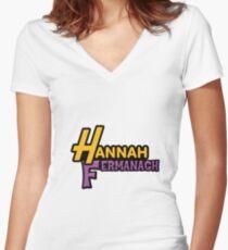 Hannah Fermanagh Women's Fitted V-Neck T-Shirt